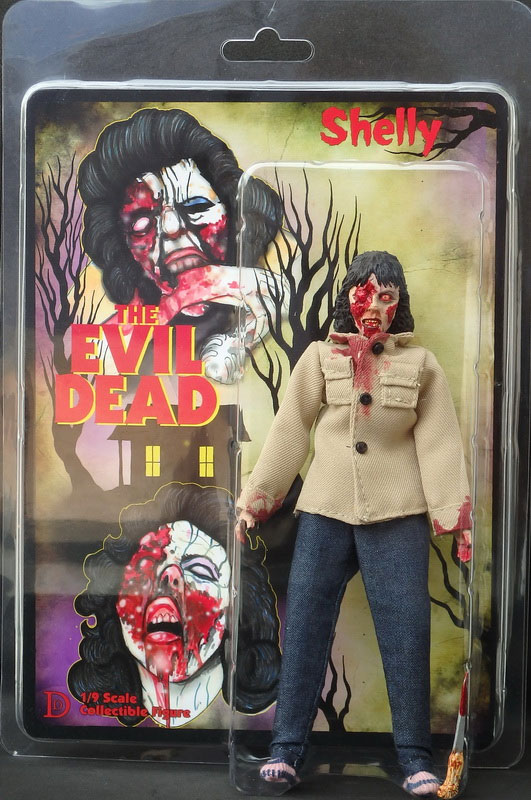 "Evil Dead Shelly 8"" Retro Mego Style Action Figure"