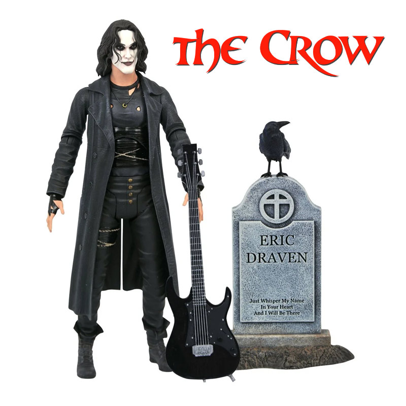 "Crow, The 1994 Brandon Lee 7"" Action Figure"