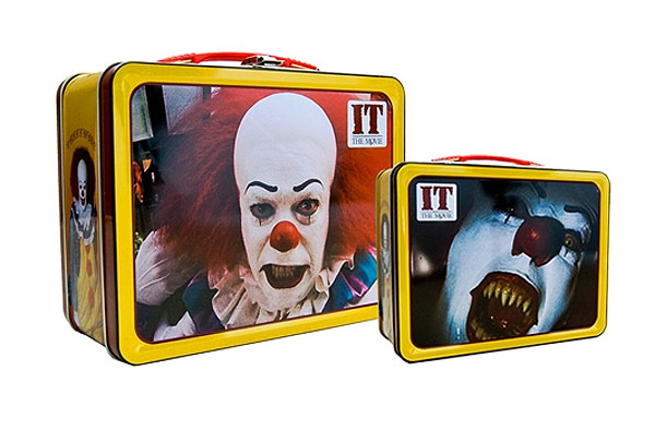 It Pennywise the Clown Lunchbox Tin Tote Stephen King