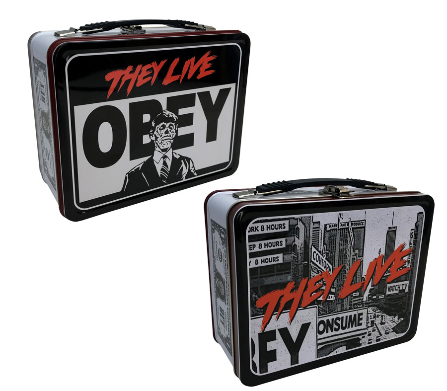 They Live Obey Lunch Box Tin Tote John Carpenter