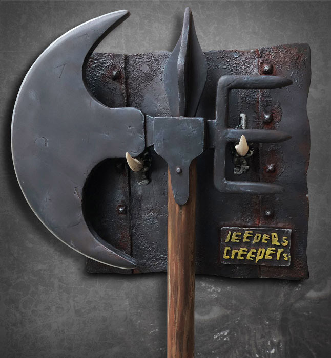 Jeepers Creepers The Creeper's Battle Axe Prop Replica