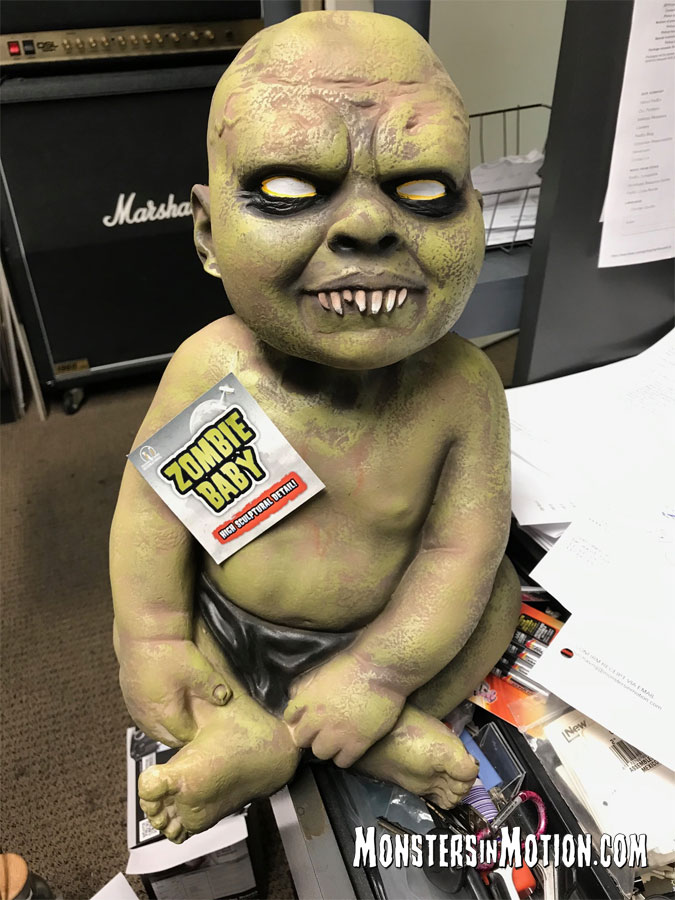 "Zombie Baby Life Size 16"" Horror Prop"