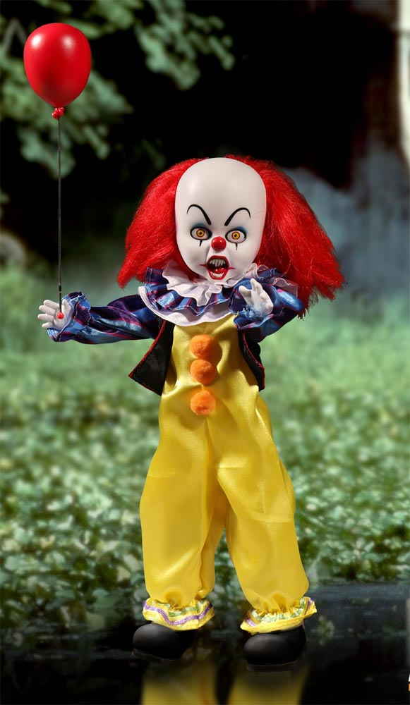 It Pennywise The Clown Living Dead Dolls Figure 1990 Stephen King TV Movie Miniseries