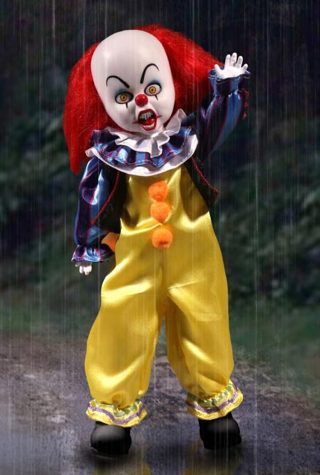 It Pennywise The Clown Living Dead Dolls Figure 1990 Stephen King TV Movie Miniseries - Click Image to Close