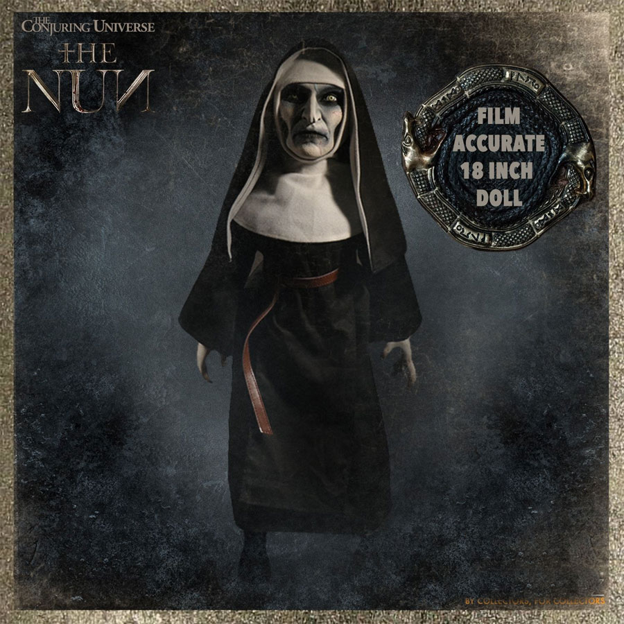 "Conjuring Universe The Nun 18"" Doll"