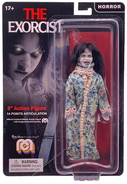 "Exorcist Regan Linda Blair 8"" Mego Figure"