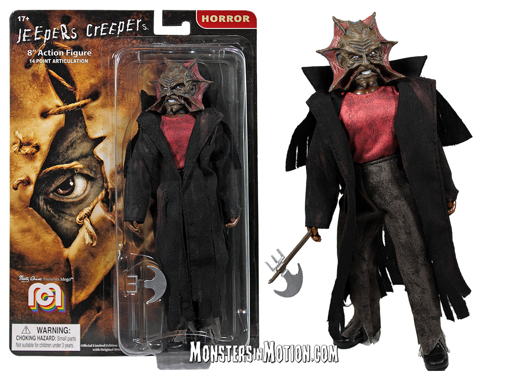 Jeepers Creepers 8 Inch Mego Figure