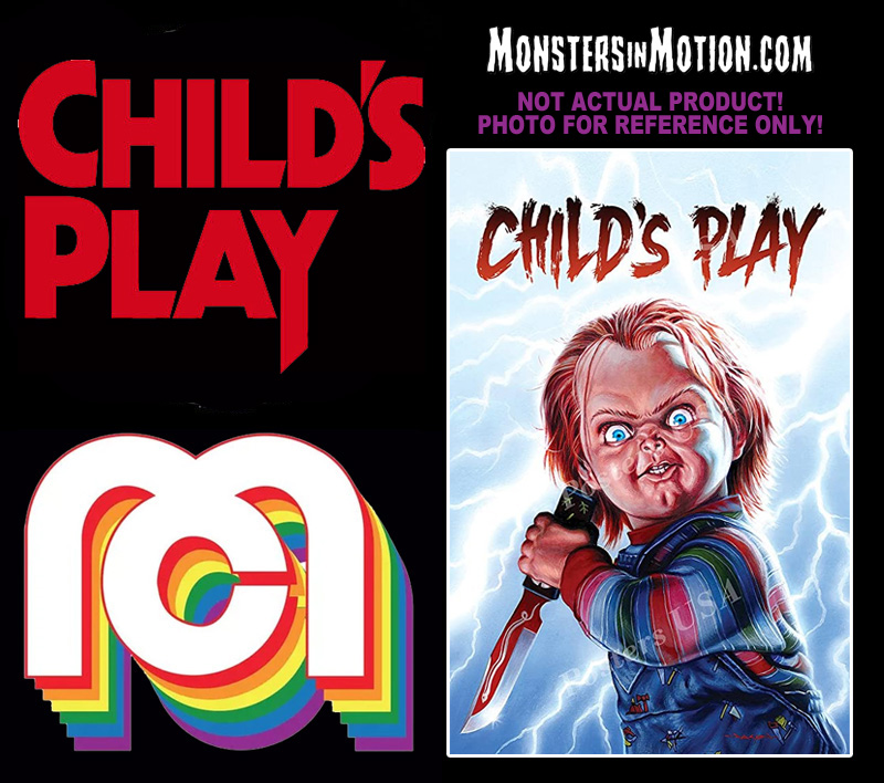 Child's Play Chucky 8 Inch Mego Figure