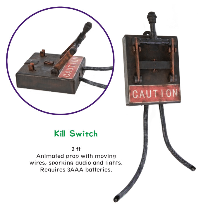 Kill Switch Dungeon or Laboratory Electric Box