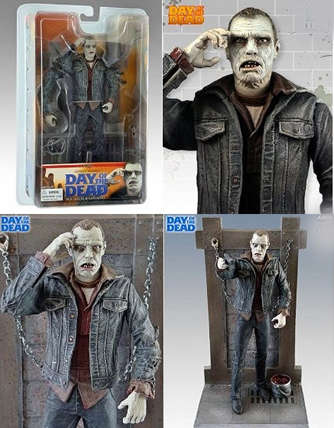 "Day of the Dead Bub Zombie Deluxe 8"" Scale Action Figure"