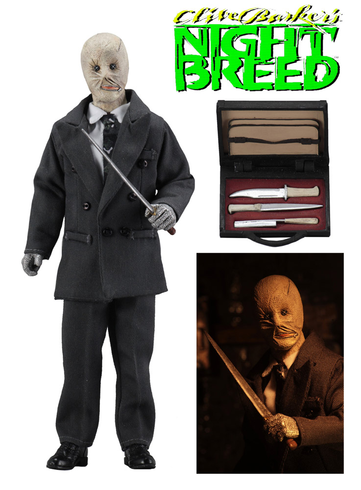 "Night Breed Decker 8"" Clothed Action Figure"