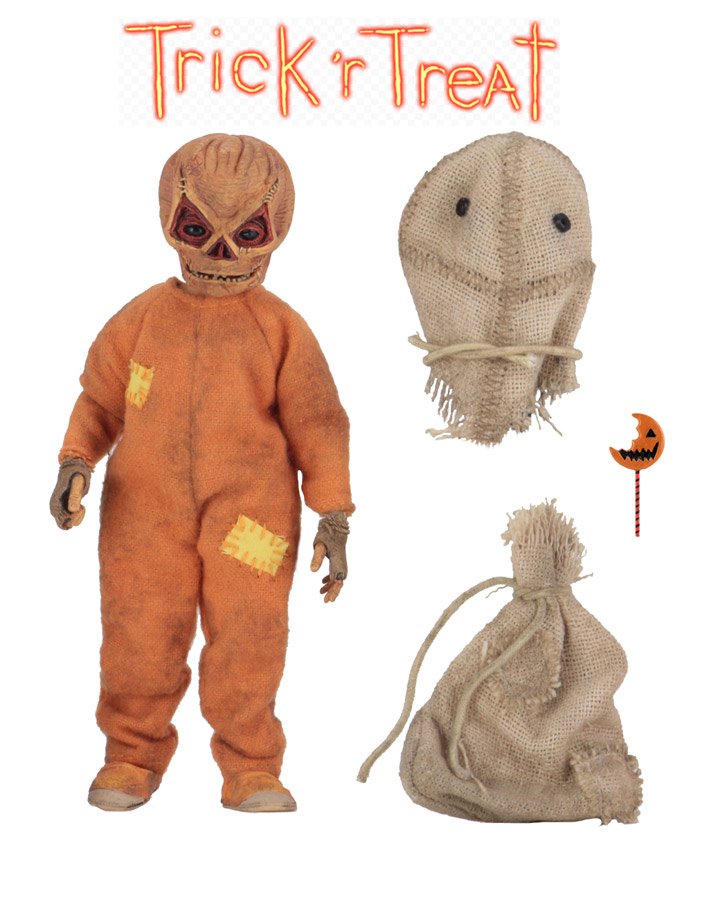 Trick 'r Treat Sam 8-Inch Scale Clothed Action Figure by Neca
