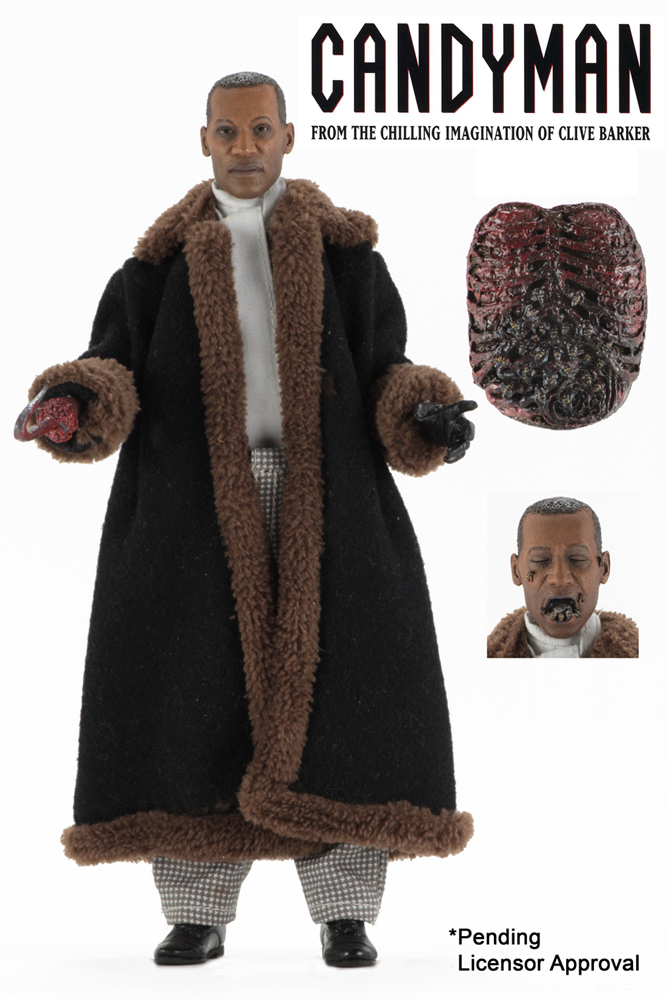 Candyman 1992 Tony Todd 8' Clothed Figure by Neca