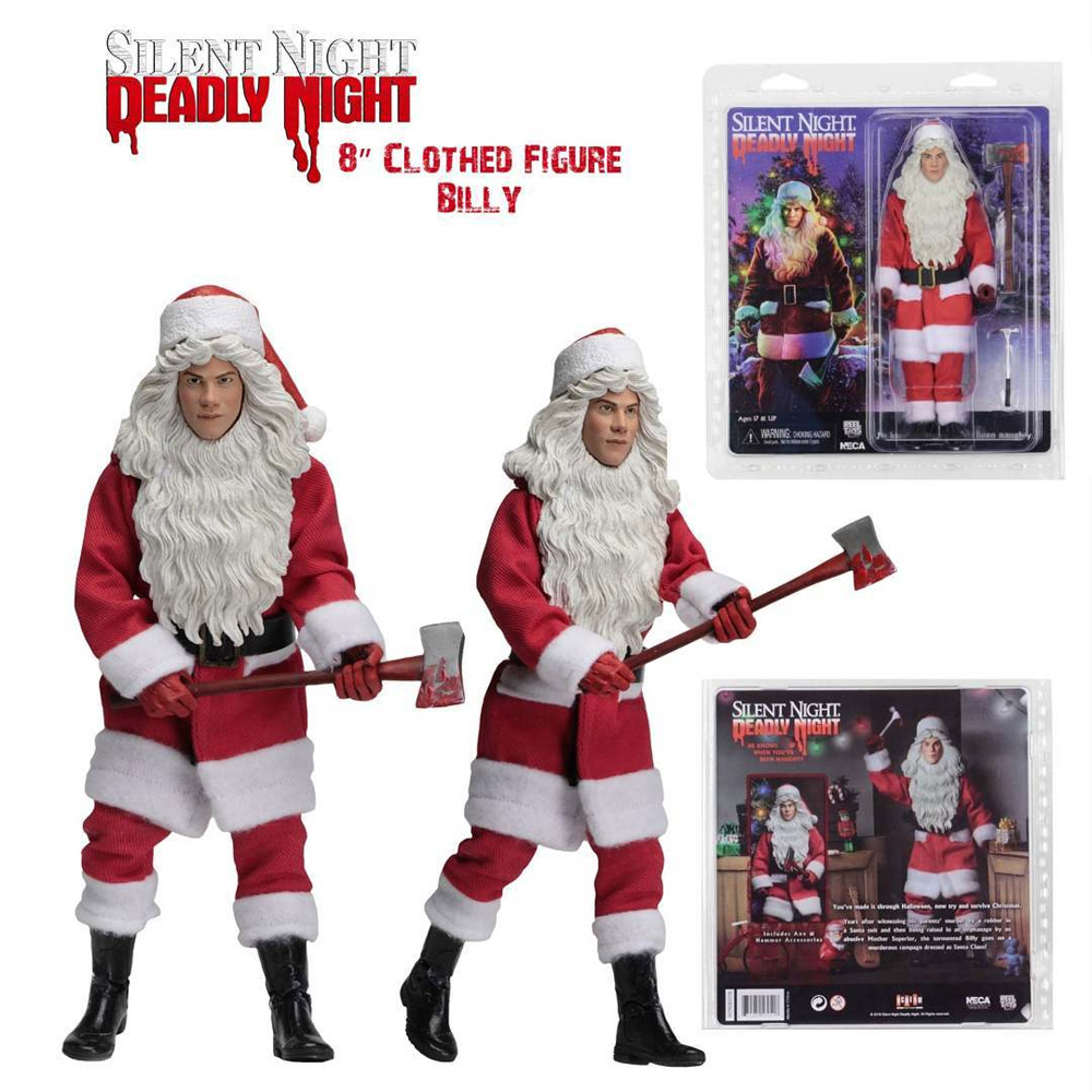 "Silent Night Deadly Night 1984 Billy 8"" Clothed Figure by Neca"