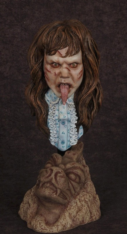 Exorcist Regan MacNeil 1/4 Scale Bust Model Kit