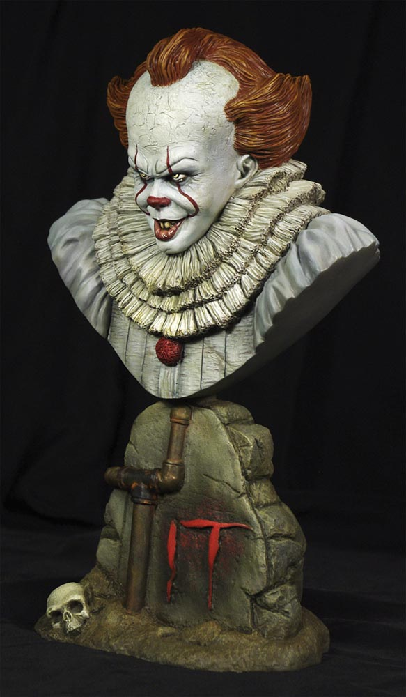 It 2017 Movie Pennywise The Clown 1/4 Scale Bust Model Kit