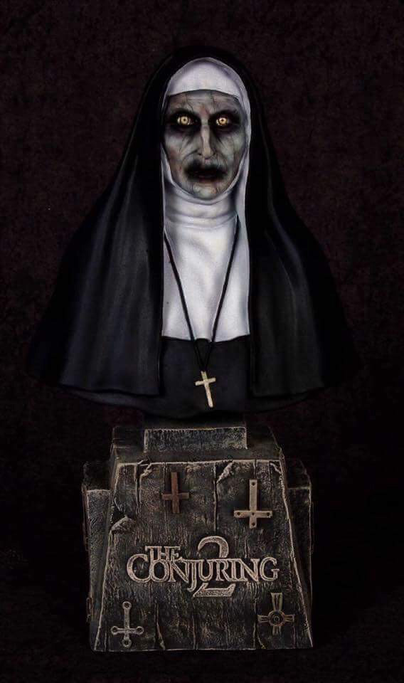 Conjuring 2 Demon Nun 1/4 Scale Bust Model Kit