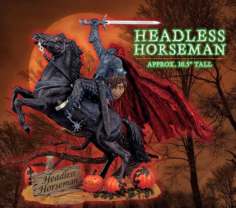"Headless Horseman 10.5"" Model Kit by Polar Lights"