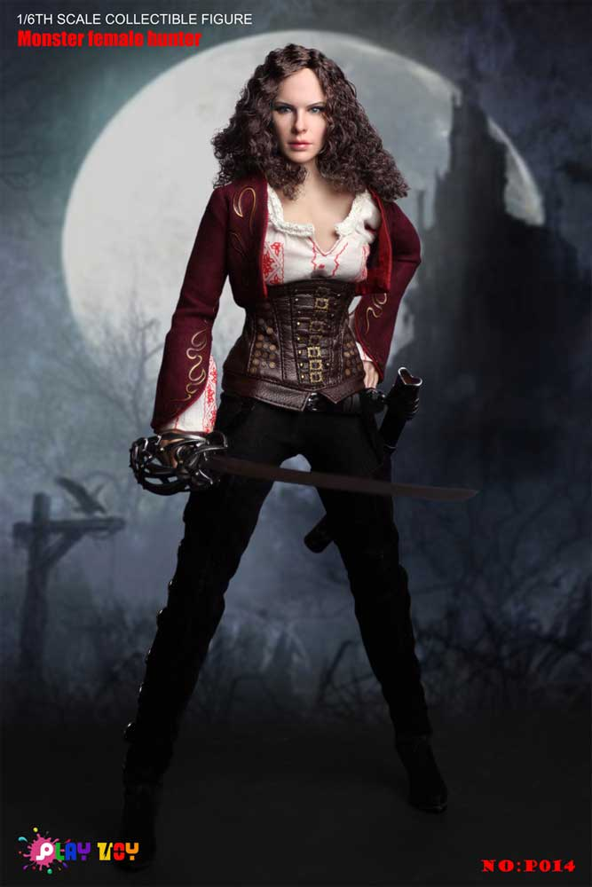 Van Helsing Anna Female Monster Hunter 1/6 Scale Figure by Play Toy