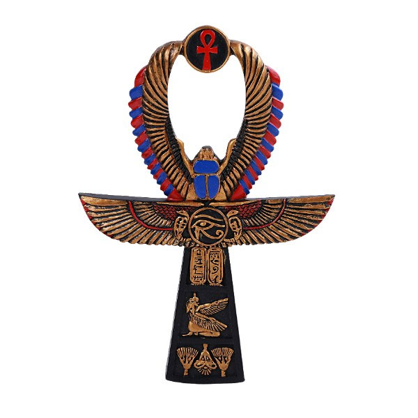 Egyptian ANKH Open Ancient Hieroglyphic Symbol Replica