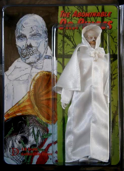 "Abominable Dr. Phibes 8"" Retro Mego Style Figure Limited to 50"