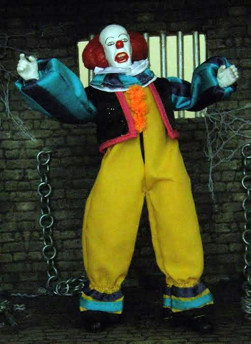 "Pennywise The Clown 8"" Retro Mego Style Figure Limited to 50 - Click Image to Close"