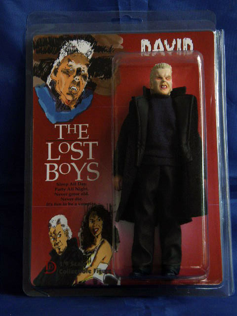 "Lost Boys David Vampire 8"" Retro Mego Style Figure LIMITED EDITION"