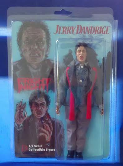 "Fright Night Jerry Dandridge 8"" Retro Mego Style Figure"