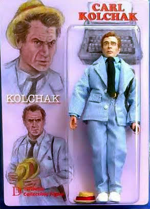 "Kolchak The Night Stalker Carl Kolchak 8"" Retro Mego Style Figure"
