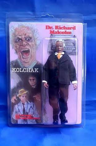 "Kolchak The Night Stalker Dr. Richard Malcolm The Night Strangler 8"" Retro Mego Style Figure"
