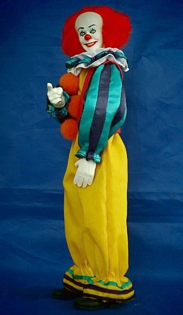 "It Pennywise The Clown 12"" Figure Stephen King - Click Image to Close"