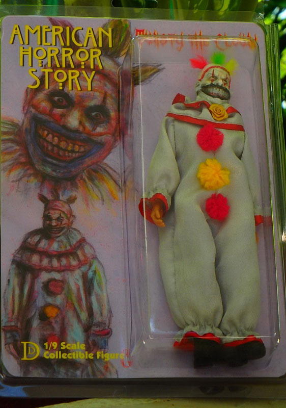 "American Horror Story Twisty The Clown 8"" Retro Mego Style Figure LIMITED EDITION"