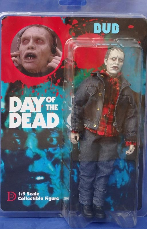 "Day of the Dead Bub 8"" Retro Mego Style Figure"