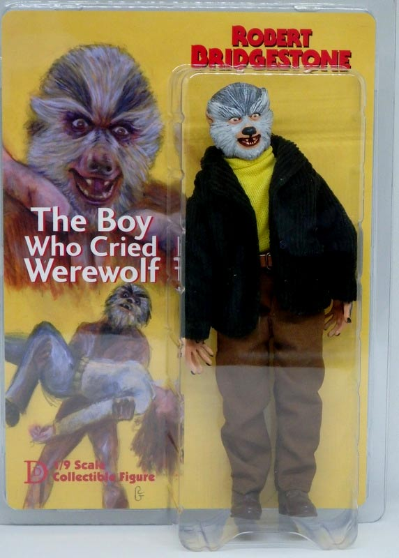 "Boy Who Cried Werewolf 8"" Retro Mego Style Figure"