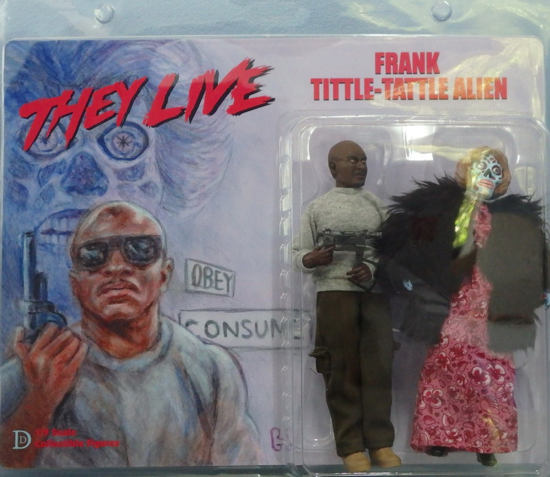 "They Live Frank and Female Alien 8"" Retro Mego Style Figure 2-Pack"
