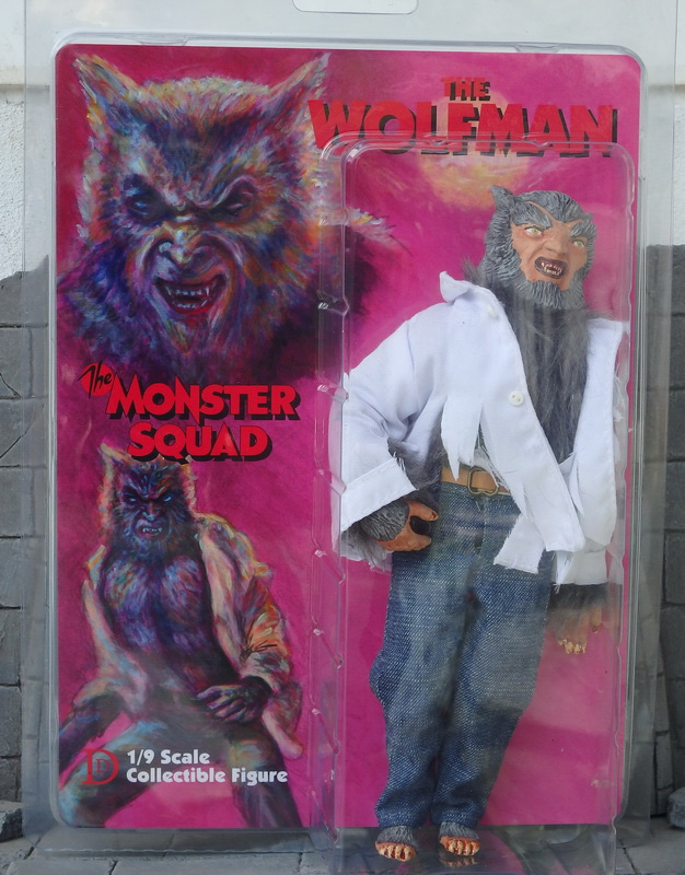 "Monster Squad Wolf Man Werewolf 8"" Retro Mego Style Figure"
