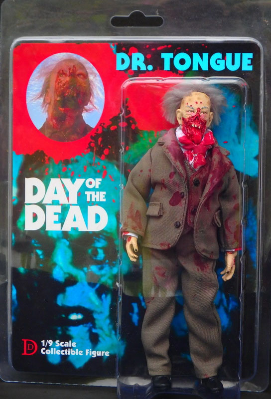 "Day of the Dead Dr. Tongue 8"" Retro Mego Style Figure"