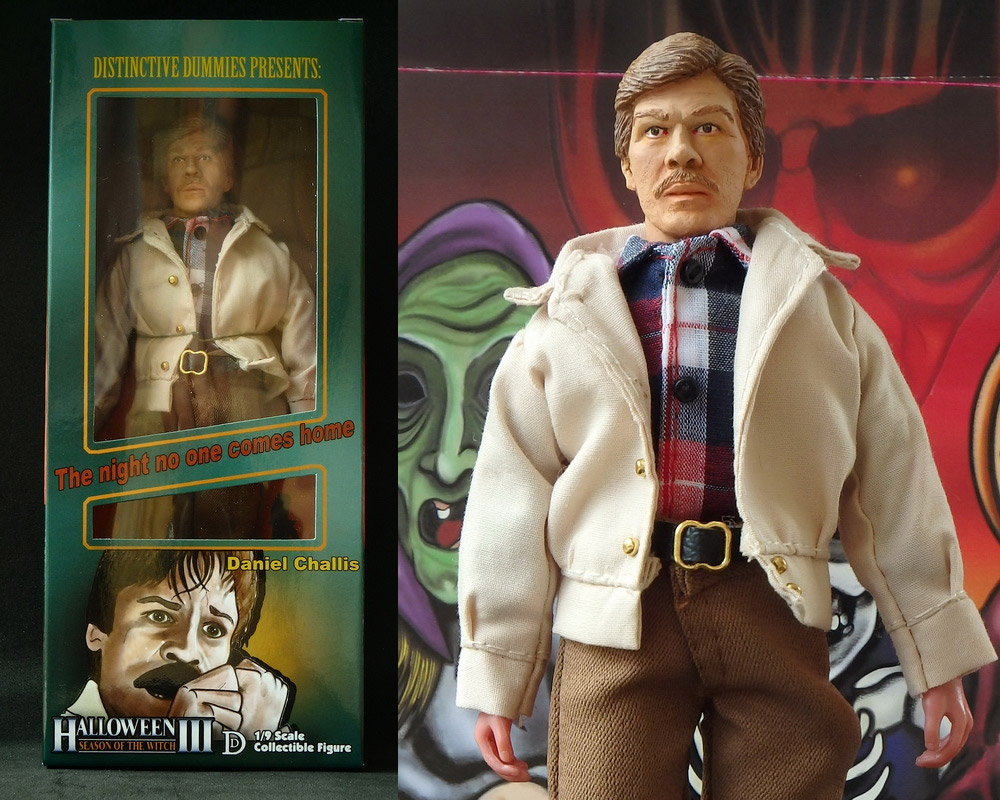 "Halloween III Dr. Challis 8"" Retro Mego Style Figure LIMITED EDITION"