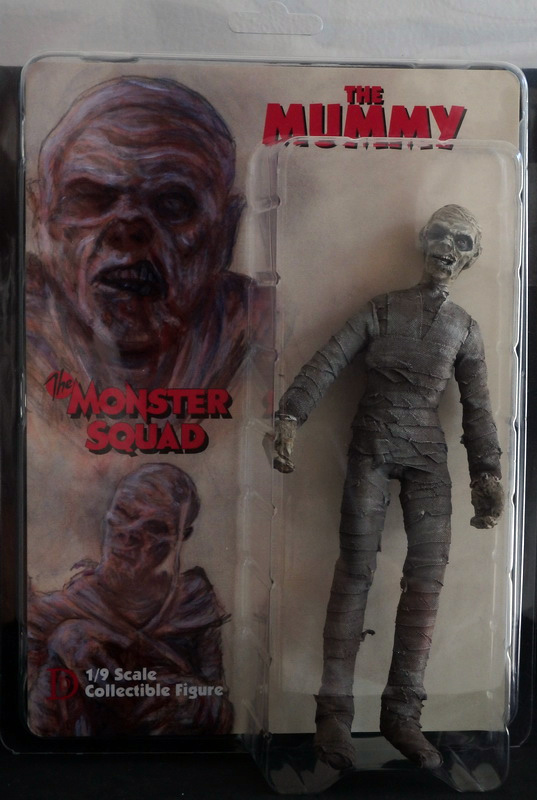 "Monster Squad Mummy 8"" Retro Mego Style Figure - Click Image to Close"