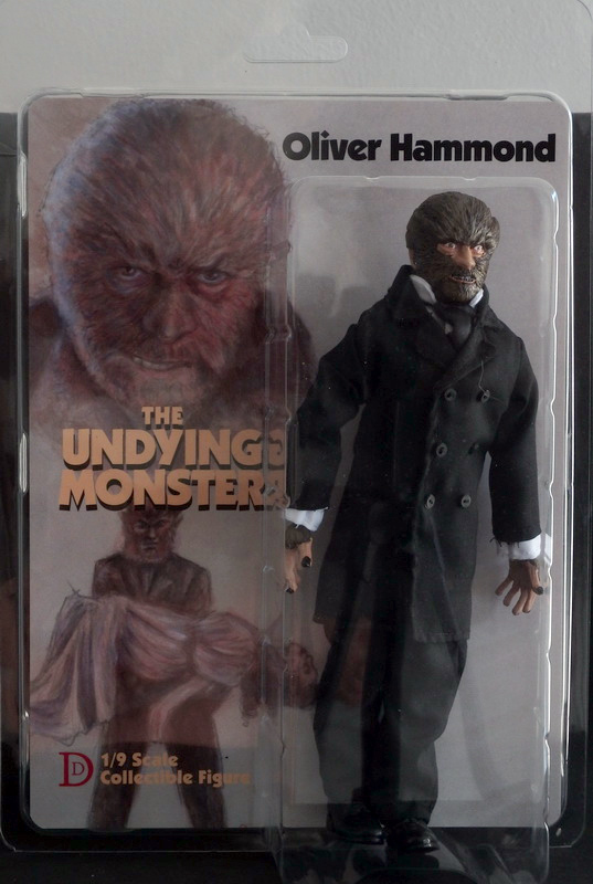"Undying Monster Werewolf 8"" Retro Mego Style Figure"