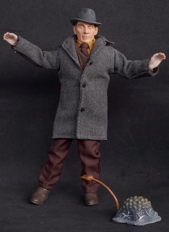 "Island of Terror Peter Cushing 8"" Retro Style Figure LIMITED EDITION"