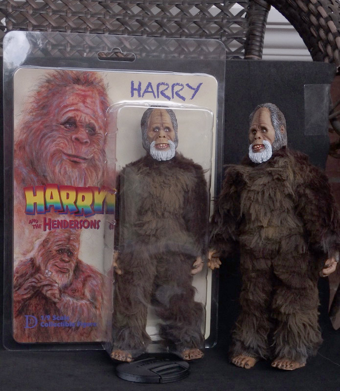 "Harry and the Hendersons Harry 8"" Retro Style Figure"