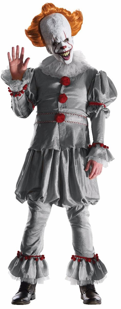 It 2017 Pennywise The Clown Grand Heritage Costume Size STANDARD