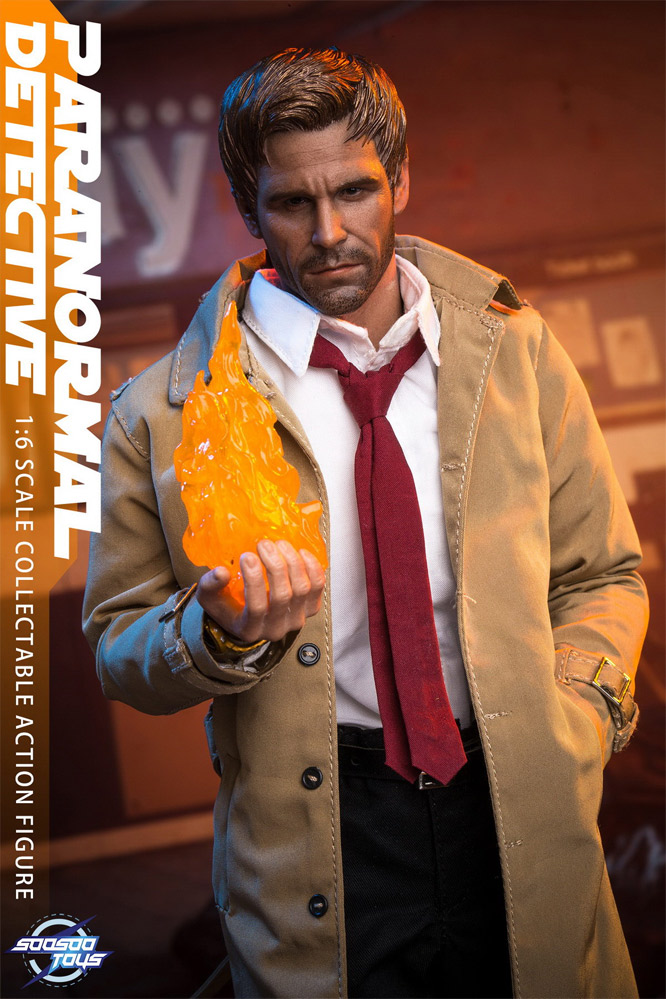 Paranormal Detective 1/6 Scale Figure by SooSoo Toys