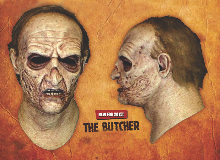 Land of the Dead The Butcher Latex Halloween Mask George Romero
