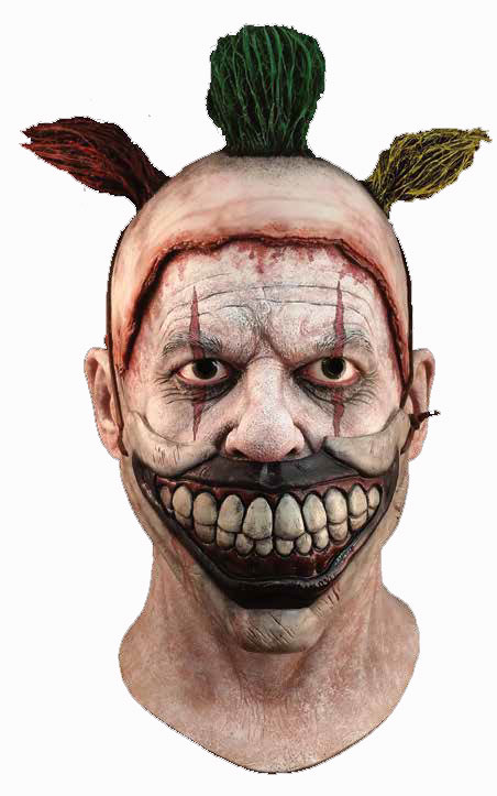 American Horror Story Twisty the Clown Latex Halloween Mask
