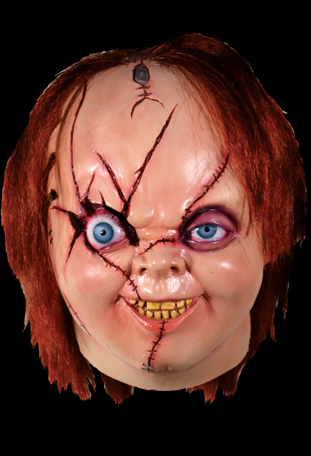 Bride of Chucky Chucky Latex Mask Version 2
