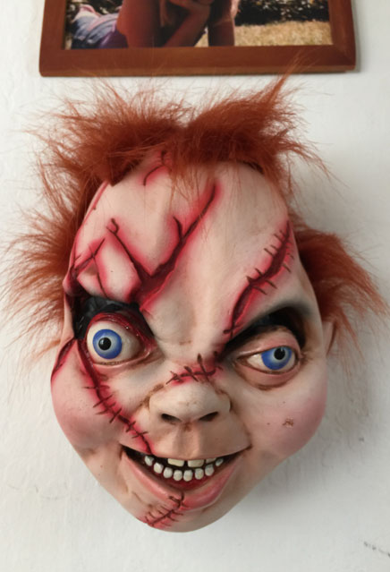 Bride of Chucky Wall and Door Hanger Prop