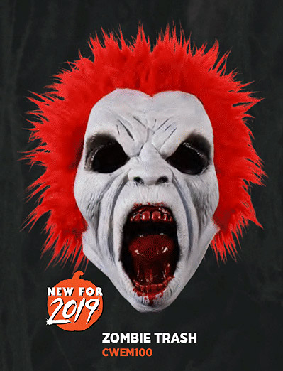 Return of the Living Dead Trash Zombie Latex Mask