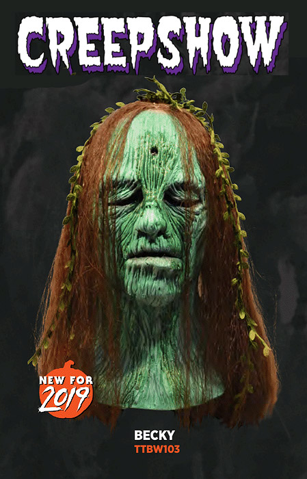 Creepshow Becky Latex Mask